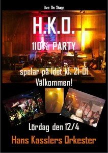 Affisch - HKO Live On Stage - A3